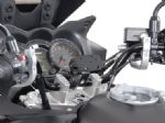 "SW Motech GPS / Electronics Mount ""Nonshock"" For 25mm Handlebars (Polished Alloy) GPS.00.308.101"